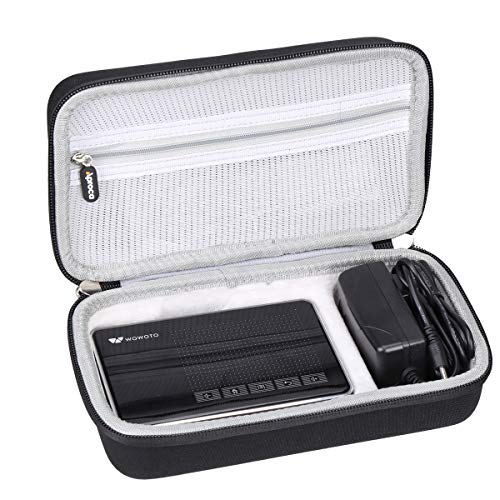 Aproca Hard Carry Travel Case Compatible with WOWOTO A5 Pro Mini Projector