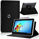 Seluxion-Funda universal para tablet, color negro 3 BQ Edison mini 8