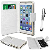 N4U Online® - ZTE Open L White PU Leather Suction Pad