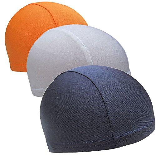 chrislz Helm rutschsicher Speed Dry Skull Cap unter Helm Radfahren Kopfbedeckung Fahrrad Fleece Mütze atmungsaktiv Beanie