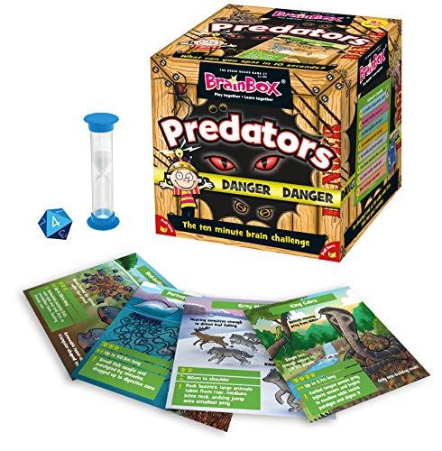 BrainBox Predators Game by The Green Board Game Company