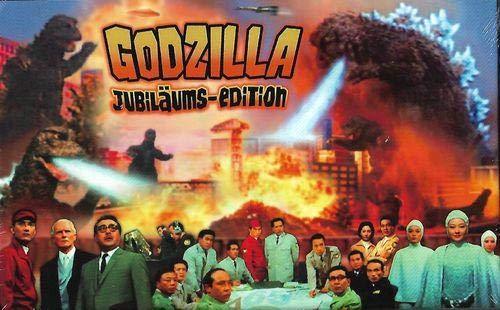 Godzilla Jubiläums-Edition - Frankenstein und die Monster aus dem All - Limited 66er DVD große Hartbox