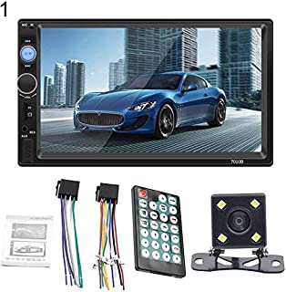 Mornyray Bluetooth V2.0 7 Inch 2 DIN Car Video Stereo Player 7010B Hands-free Call Touch Screen Car MP5 Player TF SD MMC U...
