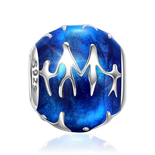 NINAQUEEN Charm fit pandora charms Family Mother Women's jewellery best gifts with Jewellery Box 925 Sterling Silver