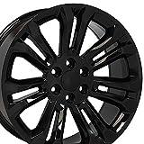 OE Wheels LLC 22 Inch Fits Chevy Silverado Tahoe...