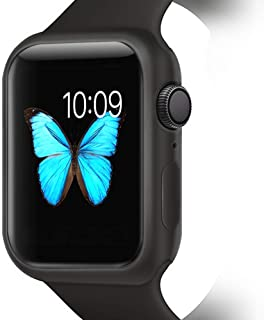 YUANHOT Compatible with Apple Watch Case Series 4/Series 5 40/ 44mm, Shock Proof and Shatter-Resistant Protective Bumper C...
