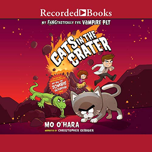 Cats in the Crater audiobook cover art