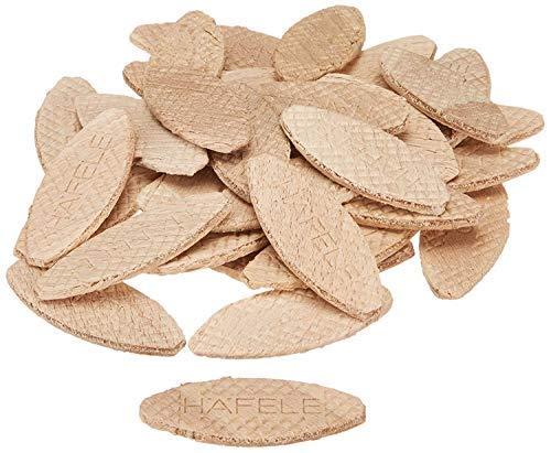 Gedotec Buche Flachdübel auch Lamello genannt | Verbindungsplättchen Holz Sortiment zu je 200 Stück Größe 0-10 - 20 | Möbel-Verbinder nach DIN 68150 gefertigt | 600 Stück - Dübel Set für Möbel