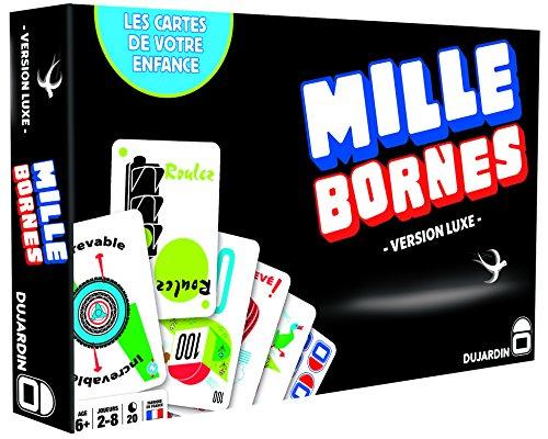 Dujardin 1000Bornes–Brettspiel–Deluxe - Schwarze Serie