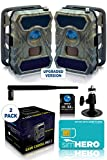 CREATIVE XP 3G Cellular Trail Cameras – Outdoor WiFi Full HD Wild Game Camera with Night Vision...