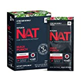 Keto//OS NAT® Maui Punch Keto Supplements – Charged - Exogenous Ketones - BHB Salts Ketogenic Supplement for Workout Energy Boost for Men and Women (20 Count)