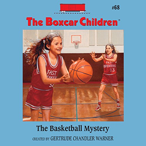 The Basketball Mystery audiobook cover art