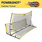 POWERSHOT Rebounder Fußball 2 in 1 und Solo Trainer - Kick Back PRO - Perfekte Trainingshilfen für...