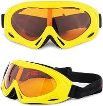 GJZ Lentes de gafas individuales para los niños crecen artículos deportivos viento de la montaña de polvo al aire libre
