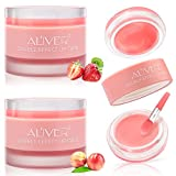 2 Packs Lip Sleeping Mask with Double Effect, Lip Repair Lip Mask for Dry, Cracked Lips, Lip Repair...