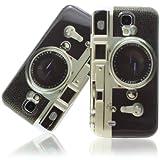 Xaiox–Funda para Samsung Galaxy S4i9500i9505Case Cover Diseño de Cámara de Fotos