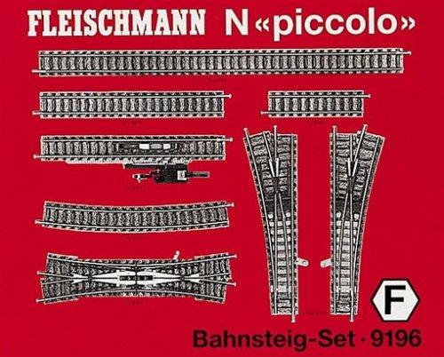 Fleischmann 9196 Profi Track Platform Set F
