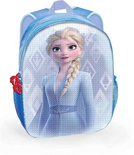 Mochila Disney Frozen Elsa y Ana con Dos Imágenes Lentejuelas Reversibles 30 cm. Toybags