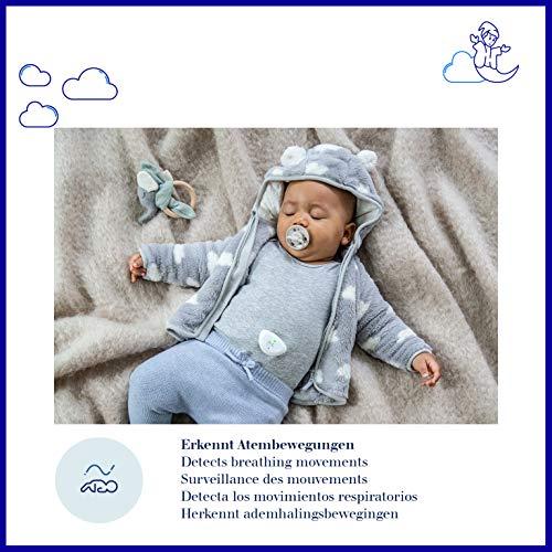 Dräger Dreamguard smarter Baby-Bewegungssensor mit integriertem Babyphone | Baby-Monitor mit App-Nutzung auf dem Smartphone | Für zuhause & unterwegs - 3
