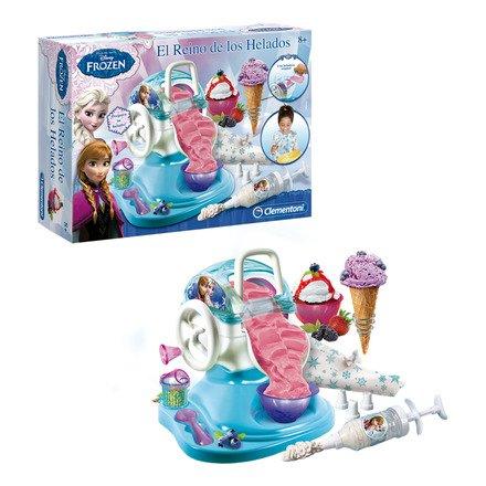 Clementoni - Heladera con Accesorios Frozen, el Reino de Hielo
