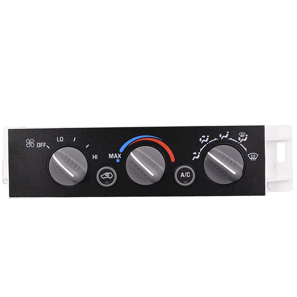 Heater A C Control Switch Panel Defog Module Window San Jose Mall shopping Without Rear