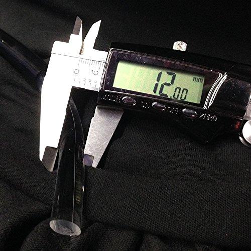 10' 12mm Fiber Optic Lighting Solid Core End Glow Cable Core Diameter...