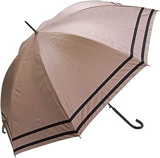 macocca(マコッカ) 晴雨兼用 完全遮光 UVカット 遮光率 100% 60cm 耐風骨 日傘 雨傘 レディース ジャンプ傘 makez.