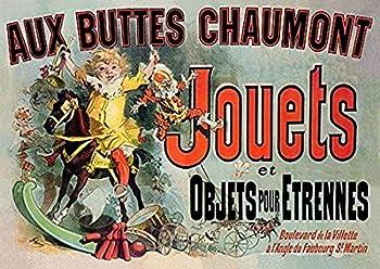 Posterazzi MINDOM9FR03255 Aux Buttes Chaumont Jouets French Friends TV Poster Print 8 x 10