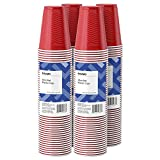 Amazon Brand - Solimo 18oz Disposable Plastic Party Cups, 200 Count,...