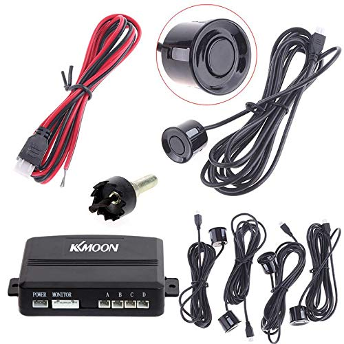 Great Features Of Jonathan-Shop - DV 12V Car Parking Sensor Monitor Radar System Auto Parking Assist...
