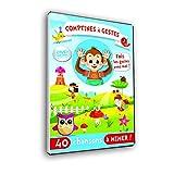 Comptines à gestes-DVD Animation + Livret Paroles