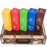 Ein ausgefallenes und exklusives Geschenk zu Weihnachten. Der Geschenk-Karton in Form eines Reisekoffers enthält je eine Packung mit feinsten Kaffeesorten aus insgesamt fünf Kontinenten: Südamerika, Zentralamerika, Asien, Afrika und- Ozeanien. Keine ...
