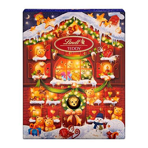 Lindt Teddy Adventskalender (24 verschiedene Überraschungen aus Milchschokolade) 345g