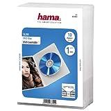 Hama - DVD Jewel Case, Slim 10, Transparent, Transparente