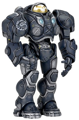 NECA Heroes of the Storm Serie 3 Raynor Action Figur, 17,8 cm