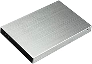 #N/A Externe high-speed harde schijf USB 3.0 SATA HDD opslag voor PC Silver - 1T