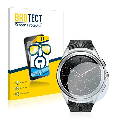brotect Pellicola Protettiva Compatibile con LG Watch Urbane 2nd Edition Pellicola Trasparente (2 Pezzi) Anti-Impronte