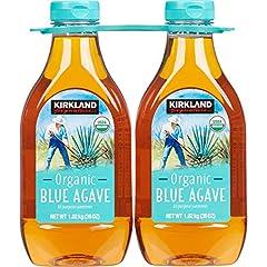 Kirkland Signature Organic blue Agave 36oz BOTTLE (pack of 2, total of 72 oz) All purpose sweetener