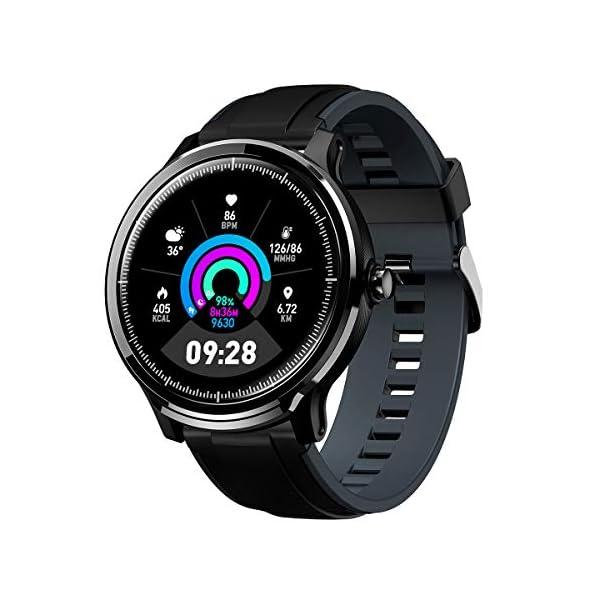 GOKOO Bluetooth Smartwatch Hombre Reloj Inteligente Fitness IP68 Impermeable Actividad Monitor Pulsómetro Compatible con… 2