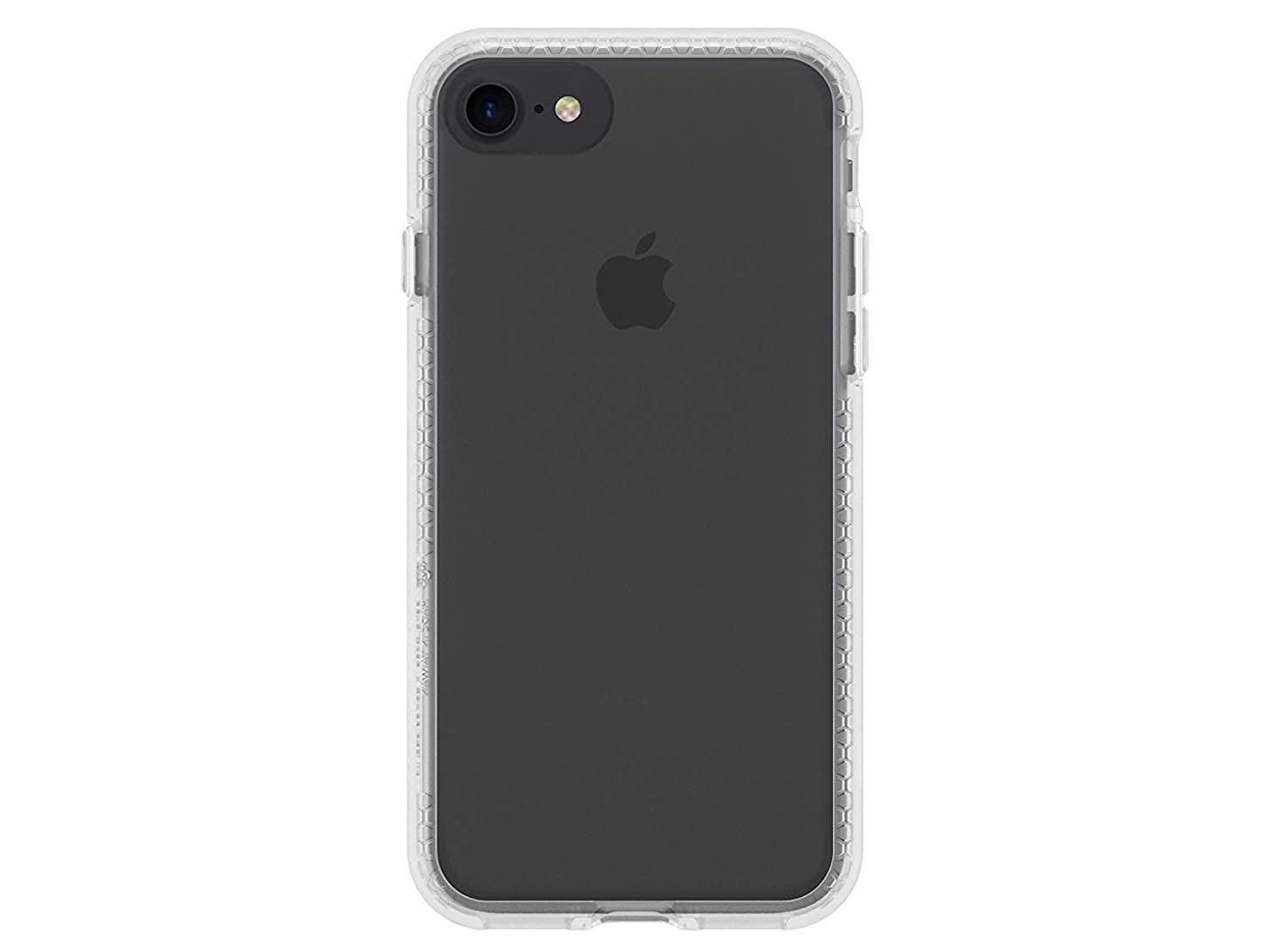 RhinoShield Case for iPhone 8 / iPhone 7 [NOT Plus] | [Clear PlayProof] | Heavy Duty Shock Absorbent [High Durability] Scratch Resistant. Ultra Thin. 11ft Drop Protection Rugged Cover - Full Clear