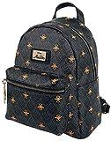 Bioworld Disney Aladdin All-Over Print Ladies Mini Backpack Mochila tipo casual 26 centimeters 20 Negro (Black)
