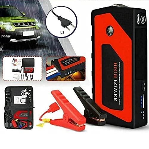 XIANZI 12V Auto-Notstart Auto-Starthilfe Tragbare USB-Powerbank Spannungsregelung Überladungsschutz Batterie-Booster-Klemme Outdoor-Reisefahrzeug Liefert Autobatterie-Starthilfe