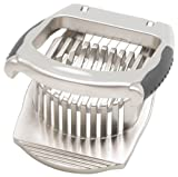 HIC Harold Import Co. 48021, Stainless Steel Wires Deluxe Mushroom and Egg Slicer, 4.5-Inches x 3.5-Inches, 1.5-Inches