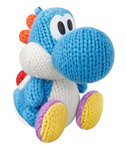 Amiibo Hellblau Garn Yoshi (Yoshi's Woolly World Series) for Nintendo Wii U, Nintendo 3DS