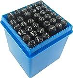 Schlagbuchstaben Schlagzahlen 36 Teile 4mm iapyx®