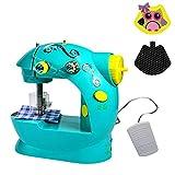 Machine à coudre de jouet miniature mini électrique portative multifonctionnelle de...