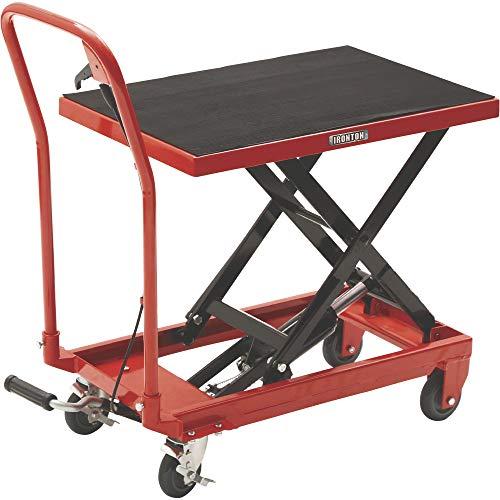 Ironton Hydraulic Table Cart - 500-Lb. Capacity, 28 5/8in. Lift