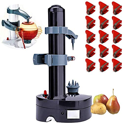 Bluce Electric Potato Peeler with 18 Replacement Blades