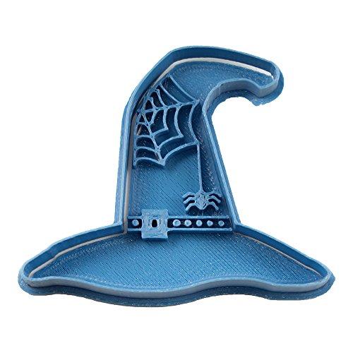 cuticuter Halloween Hoed heks uitsteekvorm, blauw, 8 x 7 x 1,5 cm