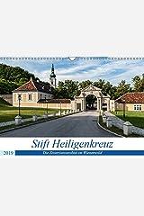 """Stift Heiligenkreuz (Wandkalender 2019 DIN A3 quer): Ein """"Ort der Kraft"""" im Wienerwald (Papst Benedikt XVI.) (Monatskalender, 14 Seiten ) (CALVENDO Orte) Kalender"""